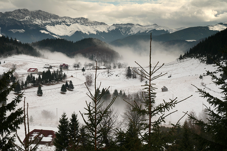 "фото ""In time"" метки: пейзаж, горы, зима"
