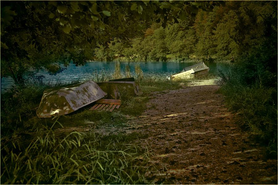 "фото ""У озера"" метки: пейзаж, вода"