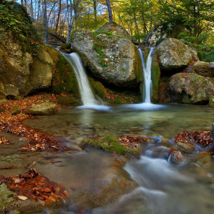 """фото """"Осенняя Купель"""" метки: пейзаж, вода, осень"""
