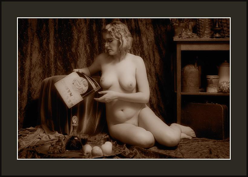 Old time nudist