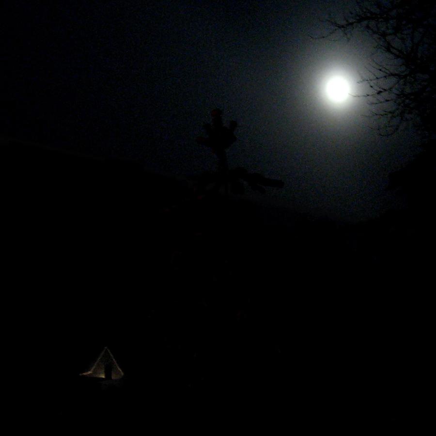 """фото """"Фотодуэль. Пустота."""" метки: фрагмент, зима, ночь"""