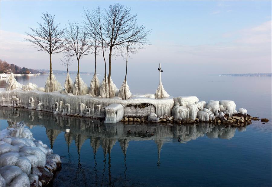"""фото """"После шторма №2"""" метки: пейзаж, зима"""