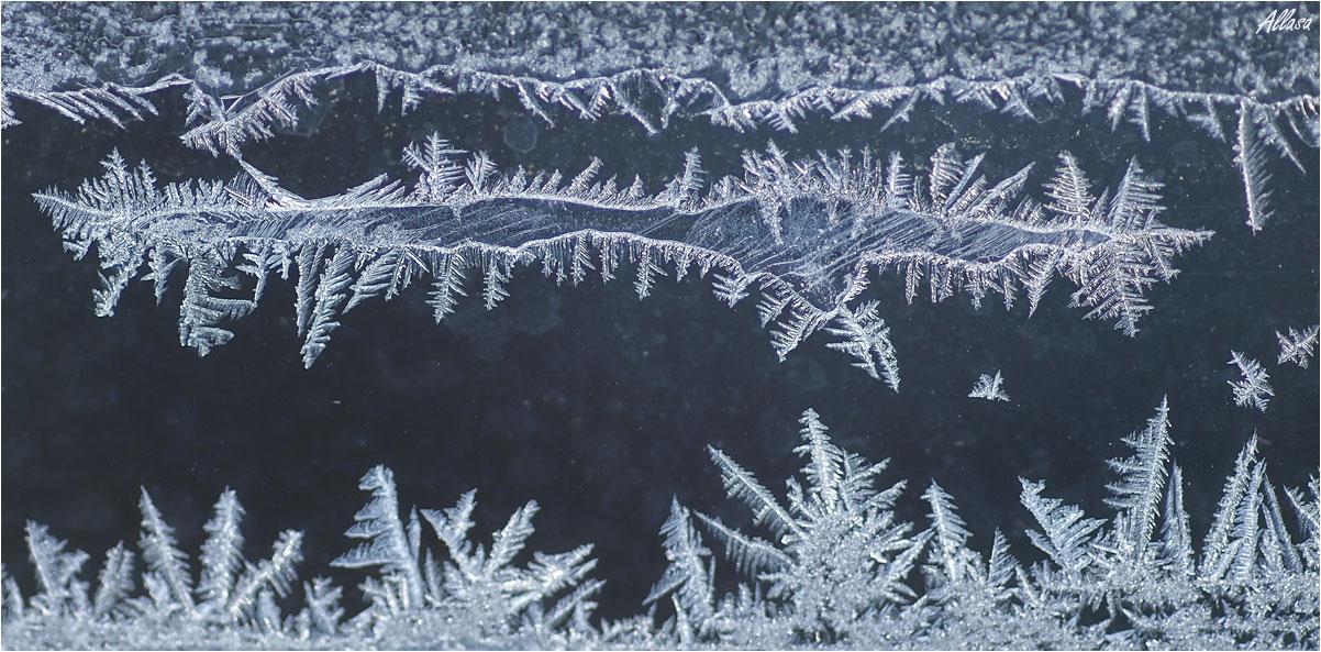как сделать морозный рисунок на авто