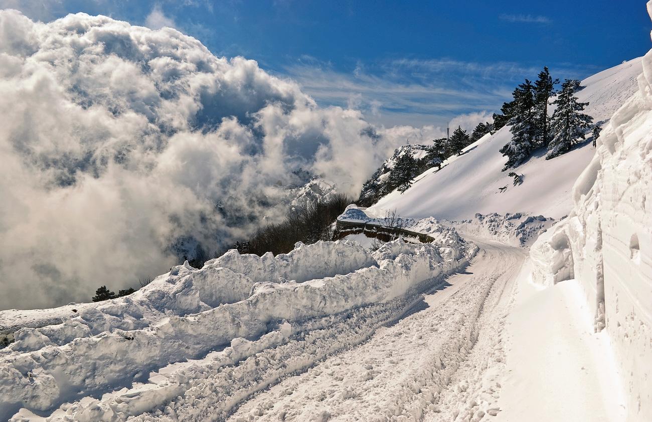 """фото """"Зима в раю"""" метки: пейзаж, горы, зима"""
