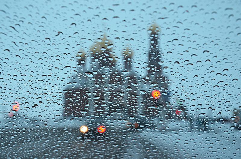 Дождь над храмом картинки, для мамы