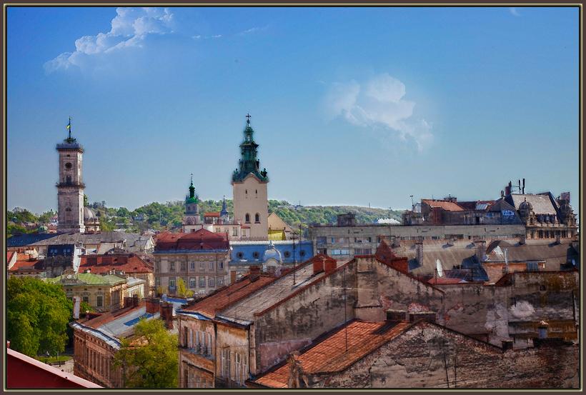 "photo ""Lvov 0541"" tags: architecture, city, landscape,"