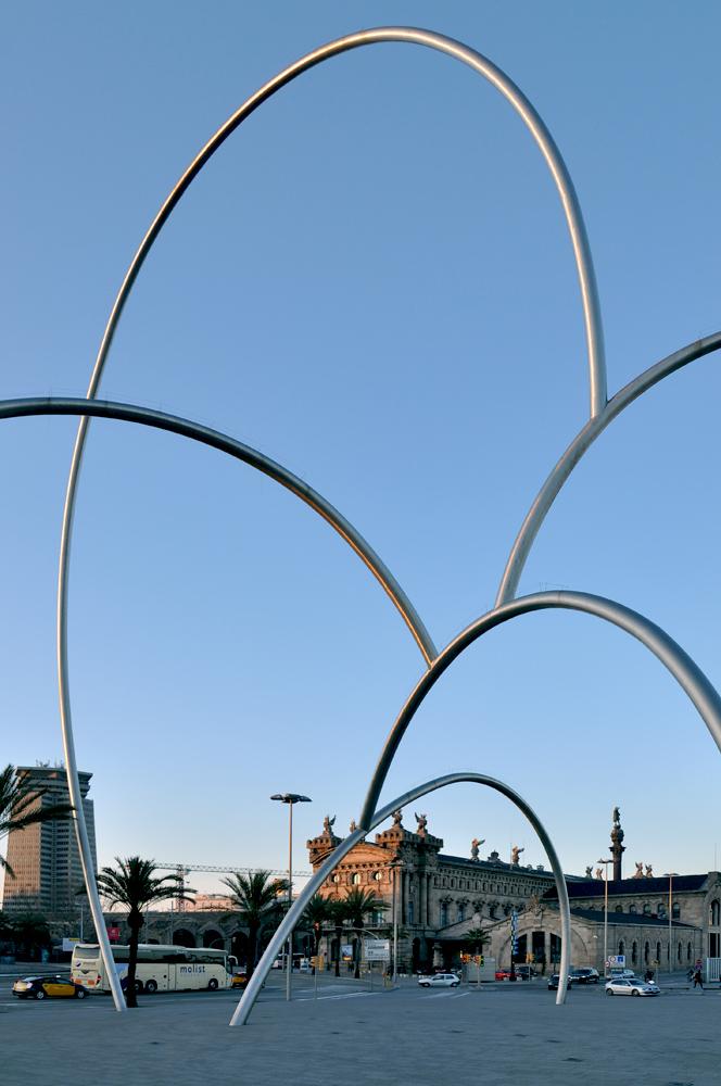 "фото ""в Барселоне"" метки: архитектура, пейзаж,"