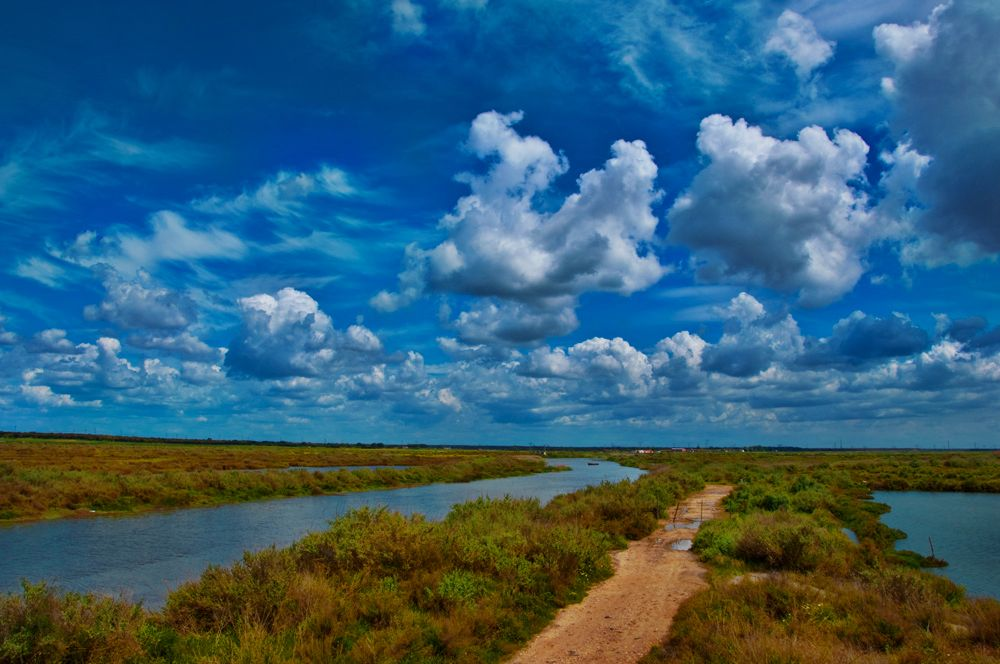 "photo ""Tagus Estuary"" tags: landscape, panoramic, water"