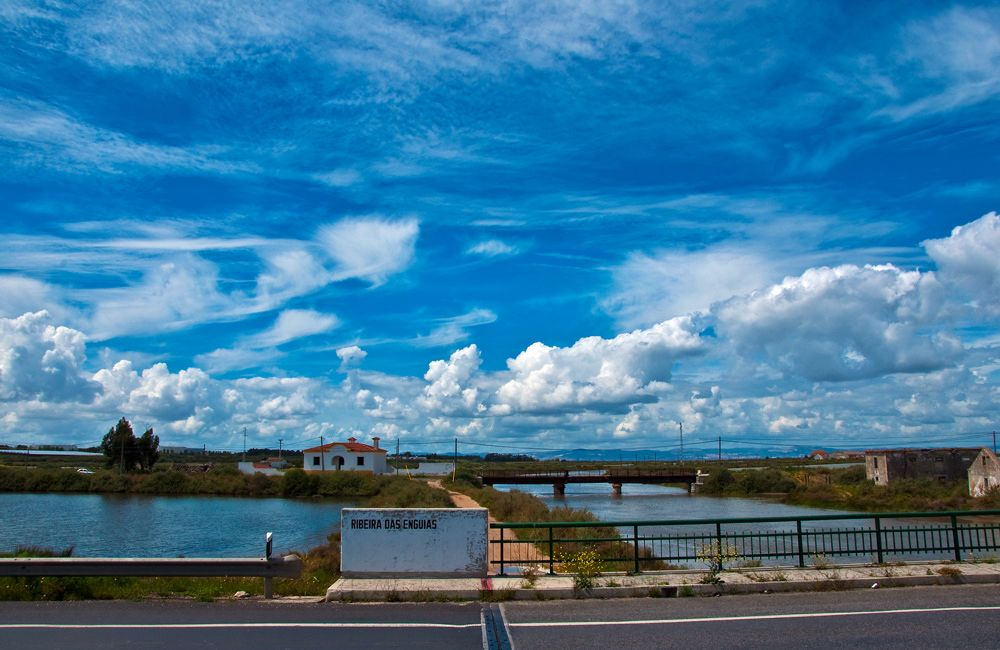 "photo ""Estuary"" tags: landscape, panoramic, water"