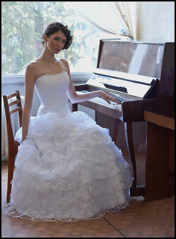 "фото ""Татьяна..."" метки: портрет, свадьба"