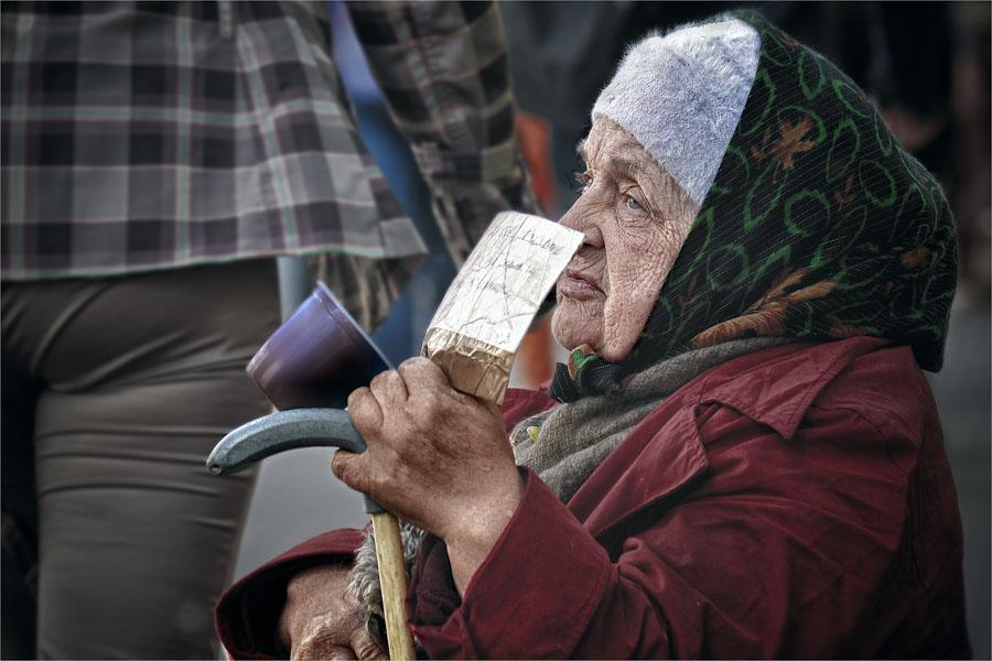 """фото """"Российская старость"""" метки: портрет, женщина"""