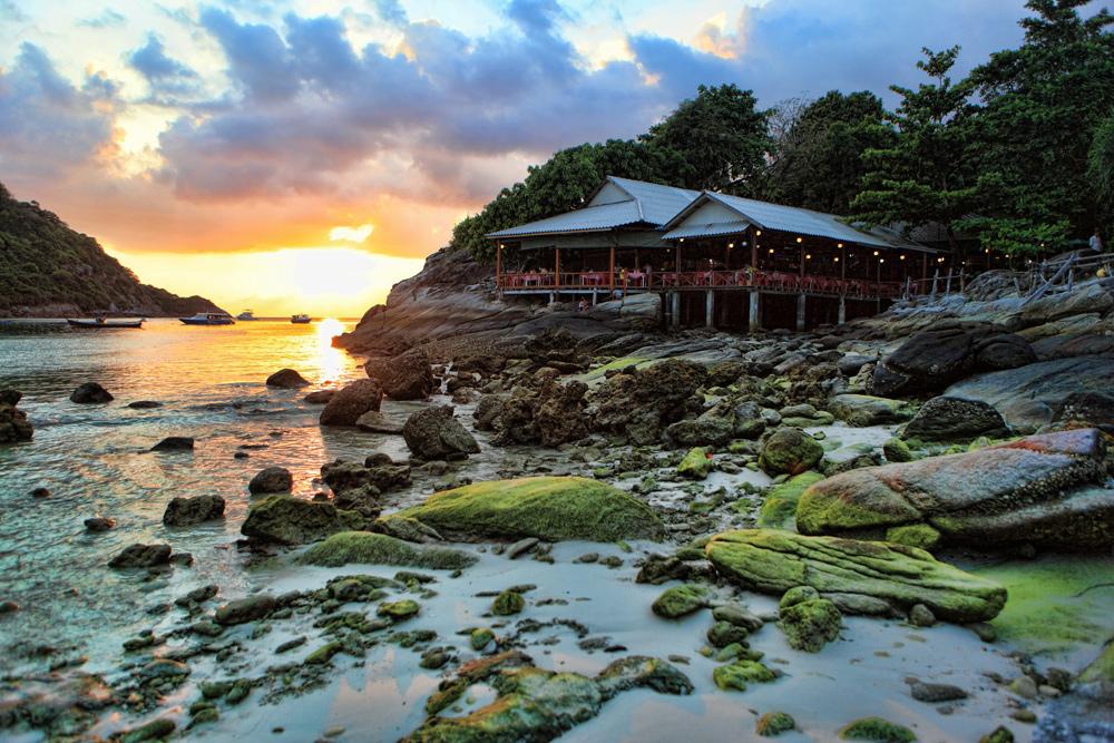"photo ""***"" tags: travel, landscape, Asia, sunset"