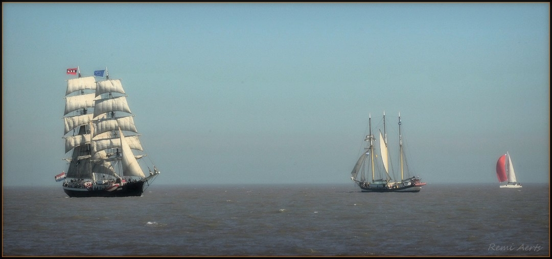 "photo ""Ostend at anchor"" tags: landscape, spring, water"