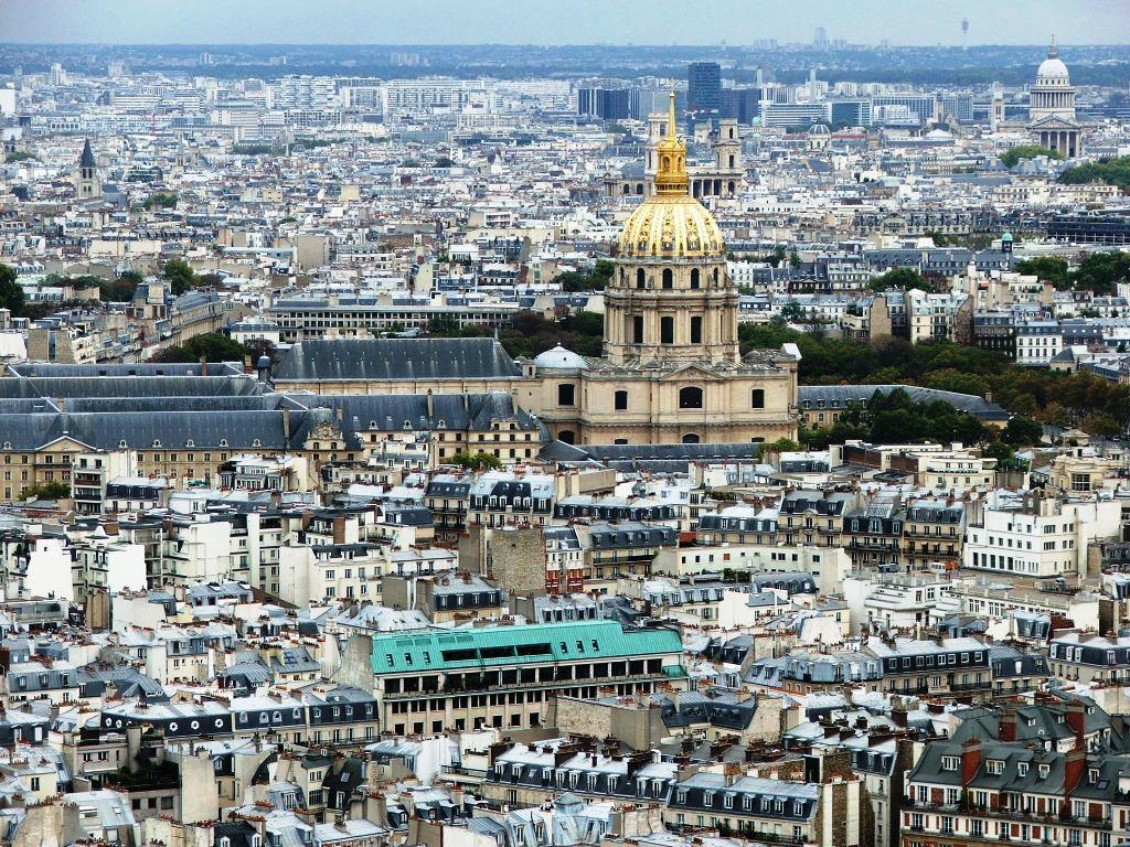 """фото """"Париж с башни Эйфеля"""" метки: архитектура, путешествия, пейзаж, Европа"""