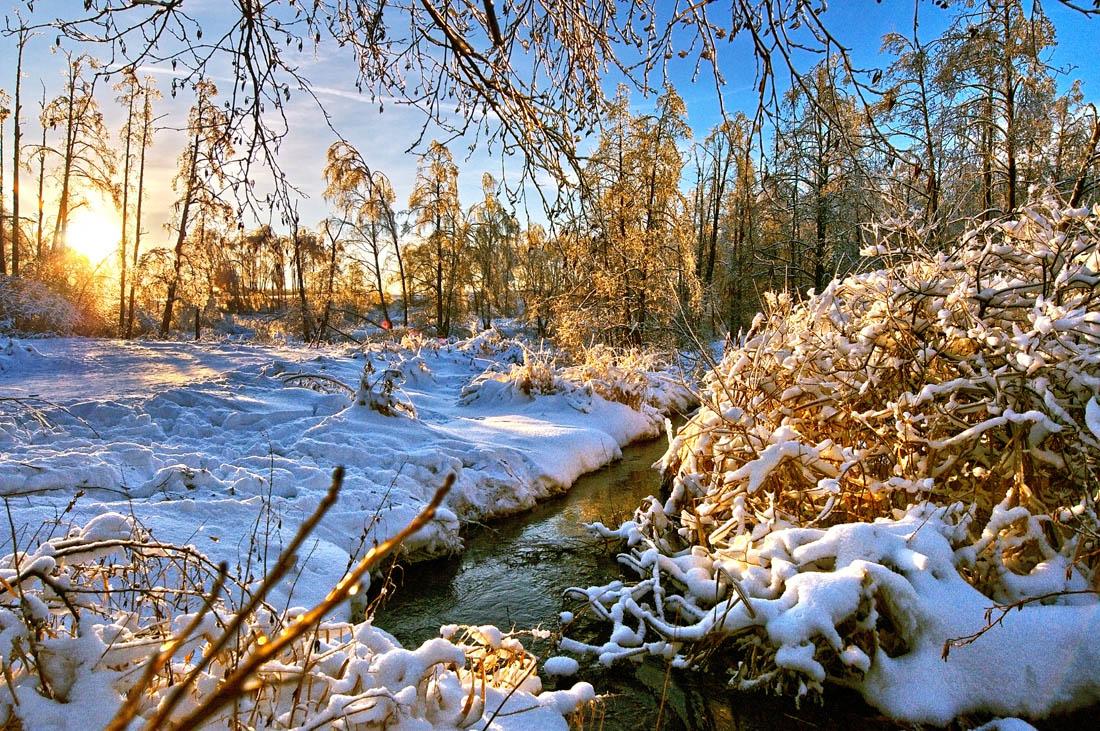 "фото ""Солнечный зимний день...."" метки: пейзаж, зима"