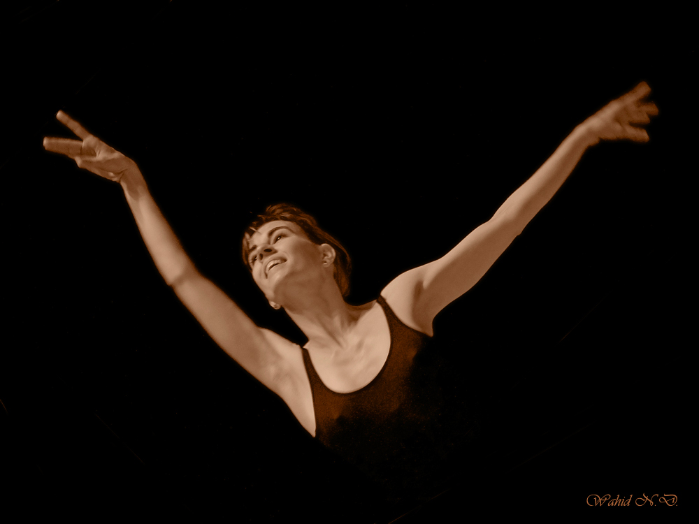 """фото """"Flying Ballerina"""" метки: портрет, женщина"""