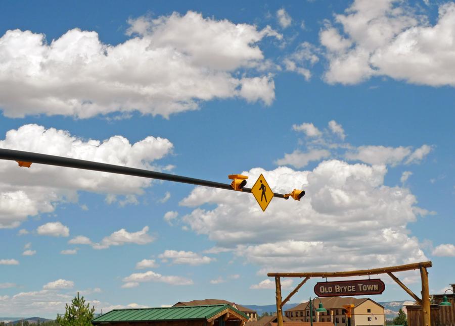 """фото """"В небе только пешеходы"""" метки: юмор, путешествия, Северная Америка"""