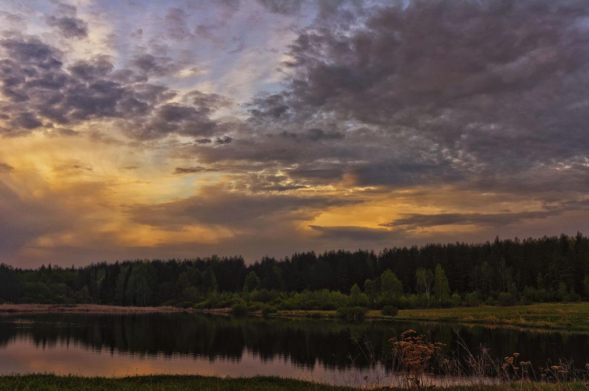 """фото """"***"""" метки: пейзаж, весна, закат"""