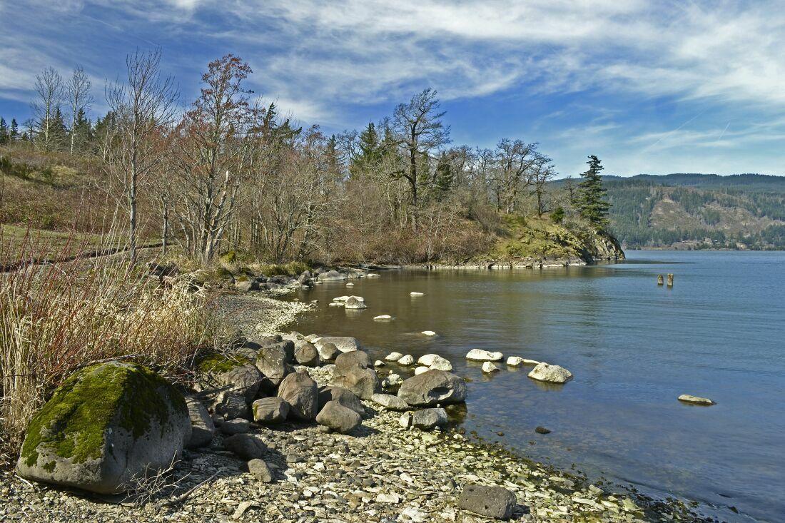 """photo """"весенний берег ....."""" tags: landscape,"""