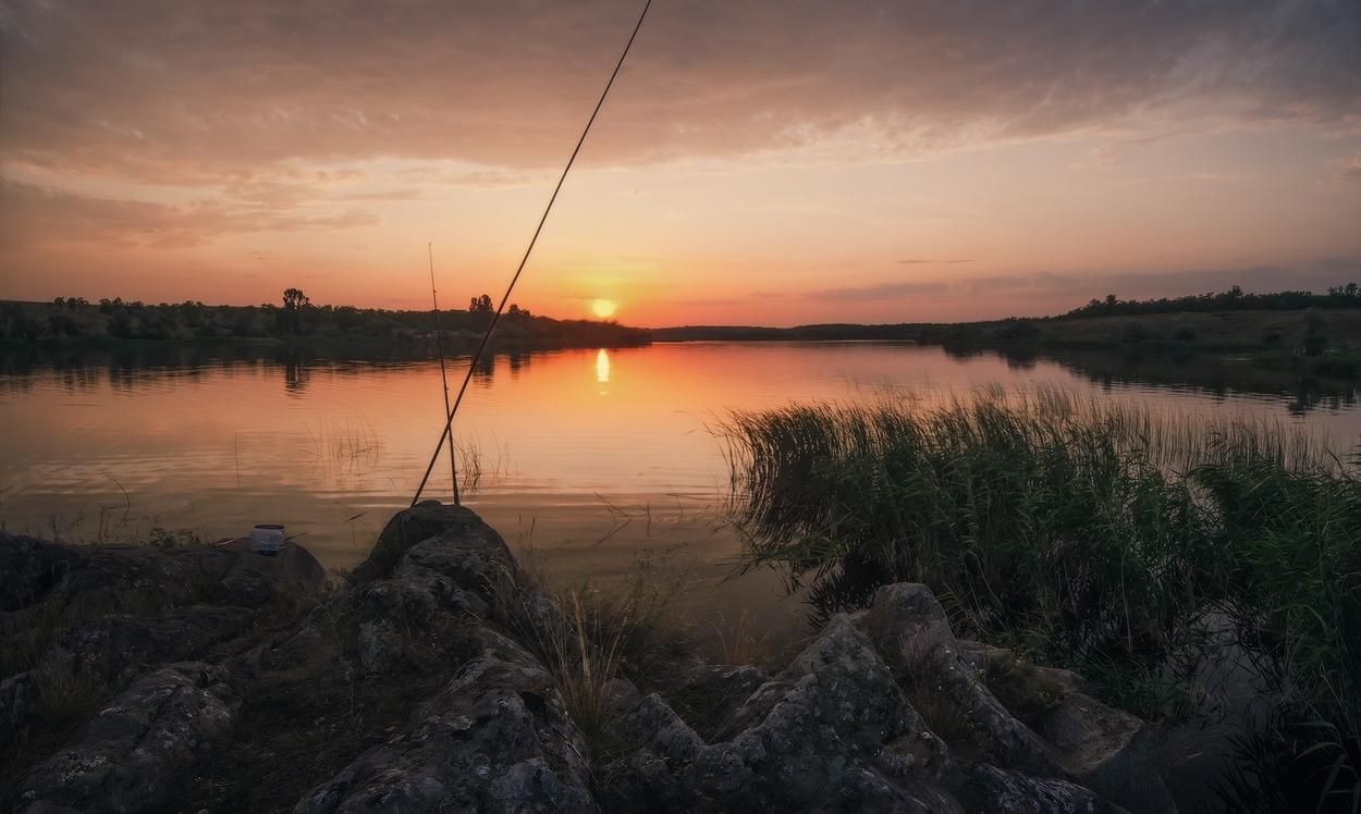 """фото """"На вечерней зорьке"""" метки: пейзаж, закат"""