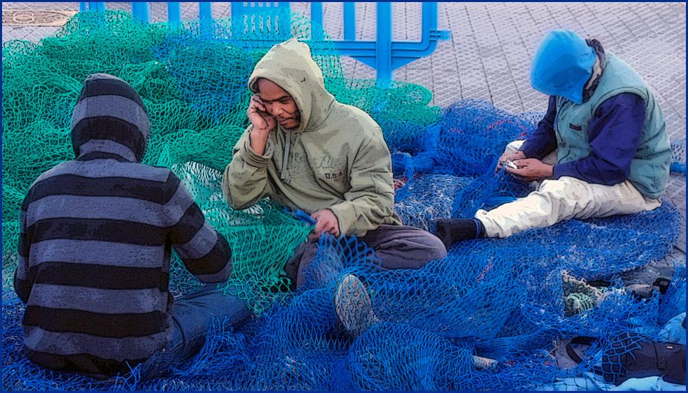 """фото """"Рыбаки в штормовках скромных"""" метки: жанр,"""
