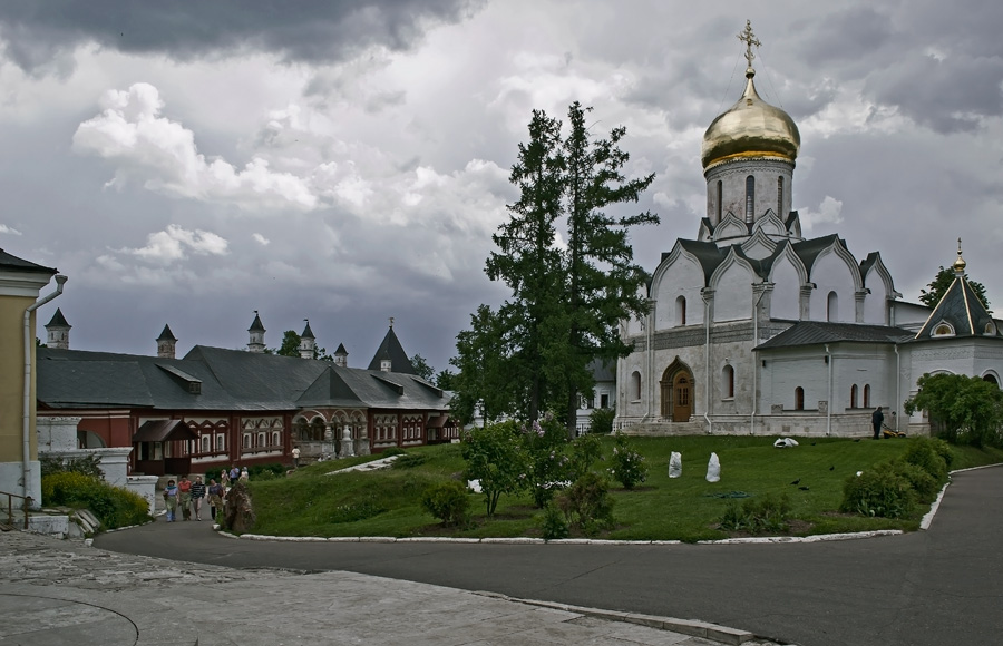 """фото """"Савино-Сторожевский монастырь"""" метки: архитектура, путешествия, пейзаж,"""