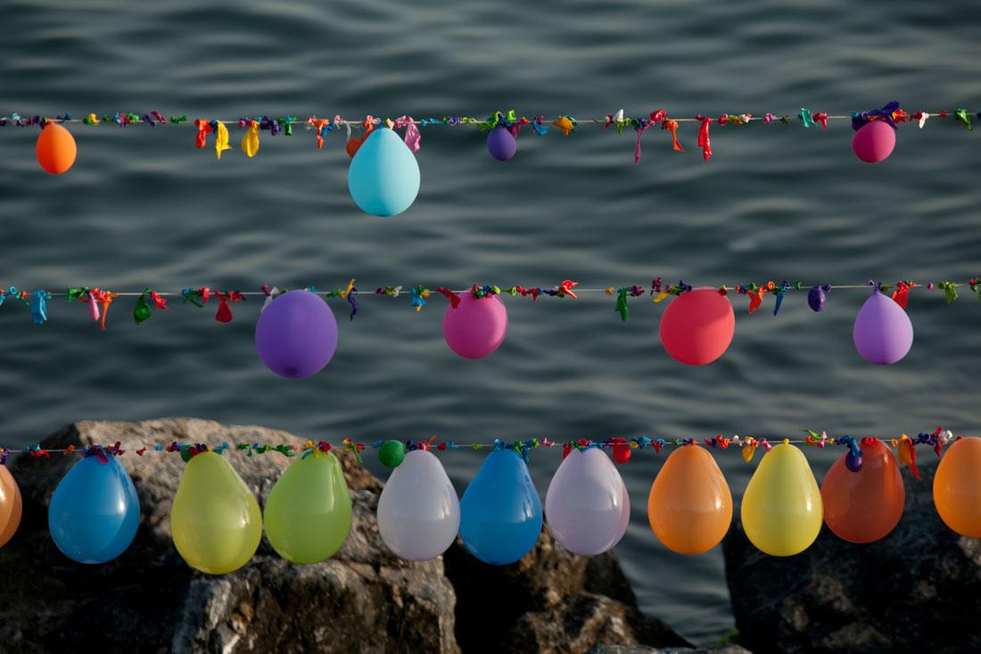 "фото ""Baloon by the shore of the sea of Marmara"" метки: пейзаж, вода"