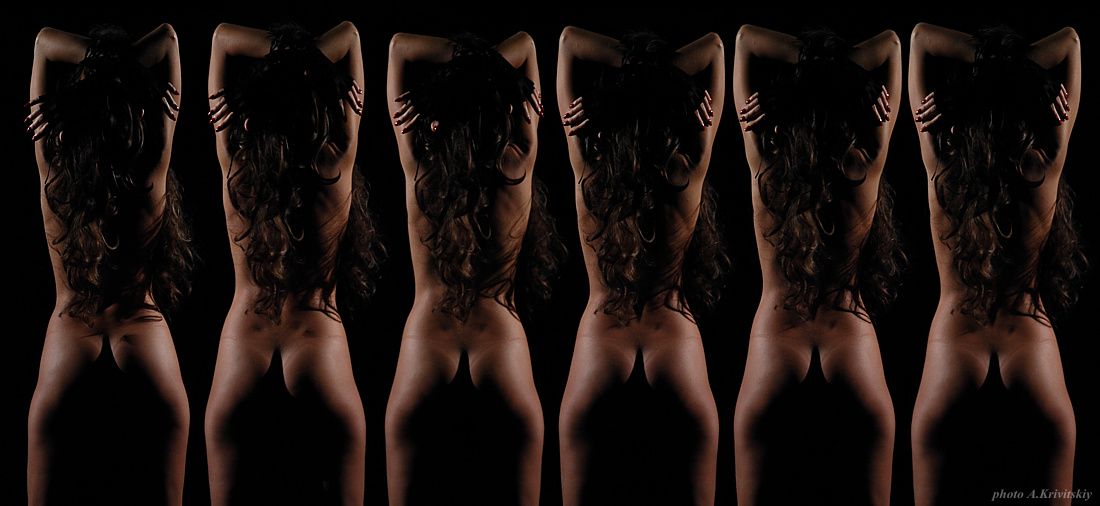"photo ""Pair Triptych."" tags: nude,"