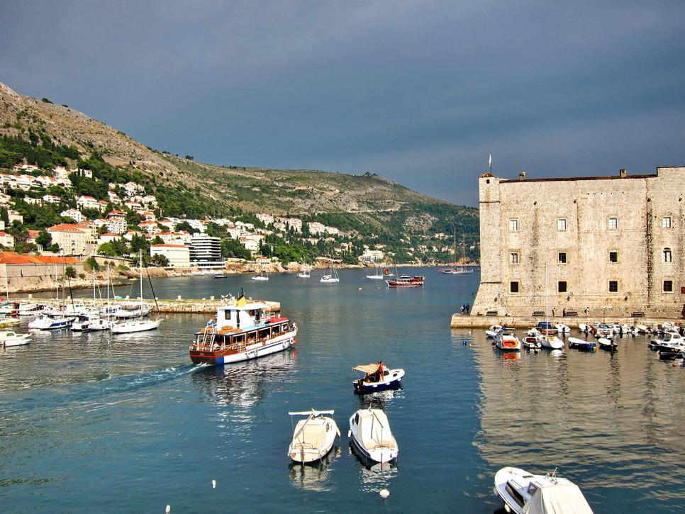 """фото """"В гавани Дубровника"""" метки: путешествия, Европа"""
