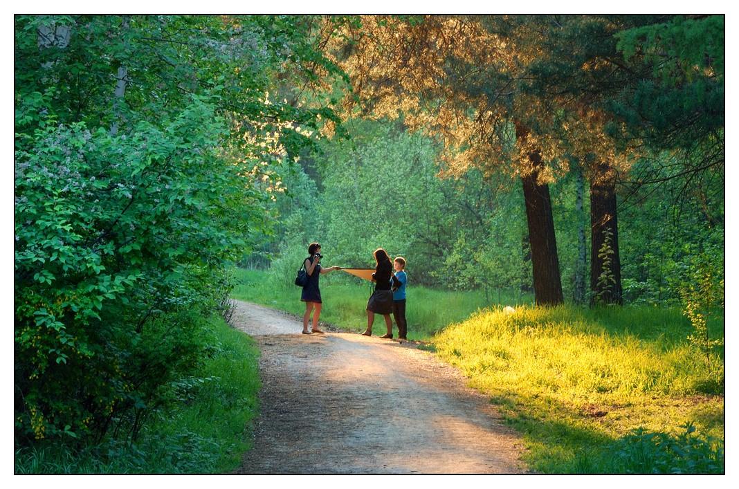"фото ""Фотосессия на природе"" метки: пейзаж, жанр, лес"