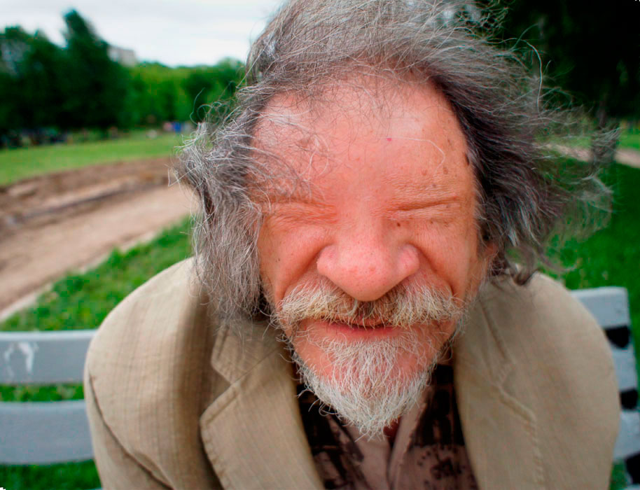 """фото """"Бомж Василич"""" метки: портрет, мужчина"""