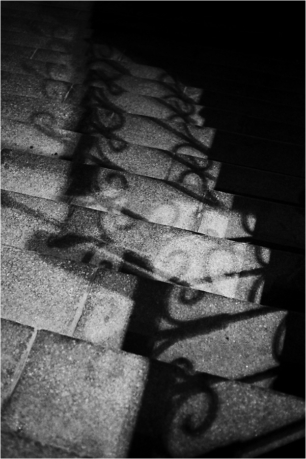 "photo ""***"" tags: abstract, black&white, shadow"