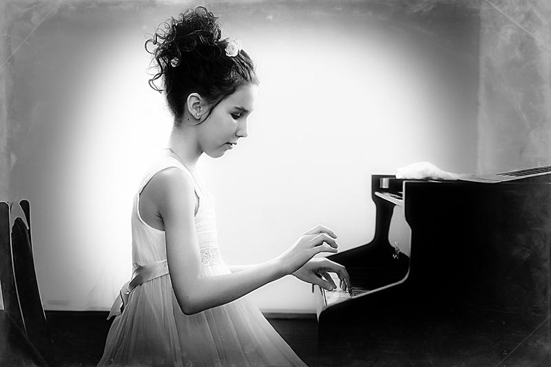 """фото """"Пианистка"""" метки: портрет, дети"""