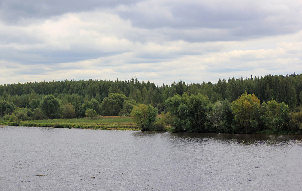 "photo ""Volga River (Kostroma region)"" tags: landscape, summer, water"