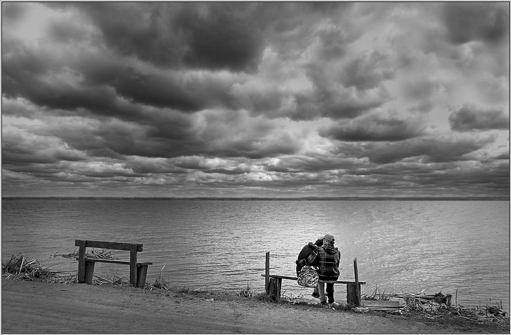 "фото ""На озере"" метки: жанр, пейзаж, вода"