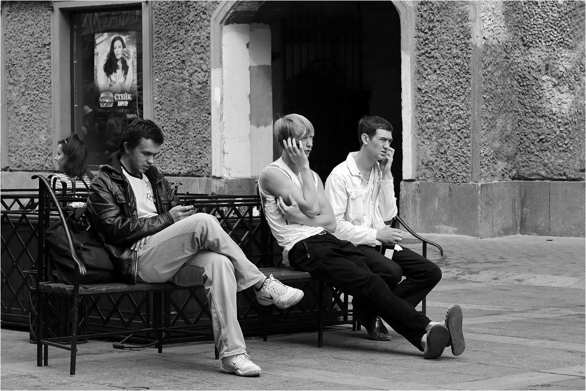 """фото """"Три богатыря"""" метки: стрит-фото, юмор, черно-белые,"""