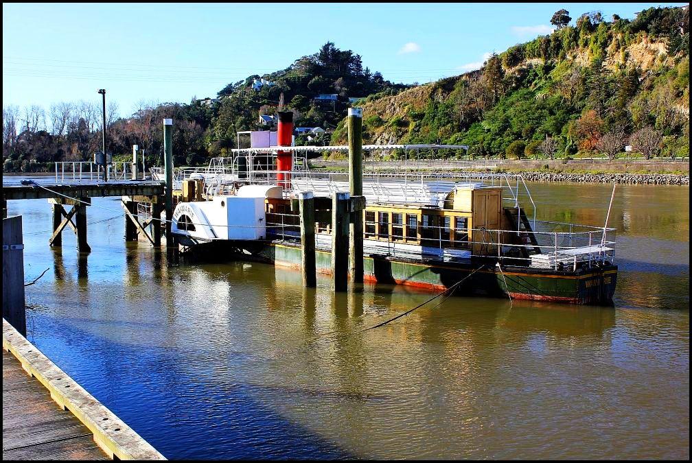 """фото """"Waimarie - old river steamer."""" метки: пейзаж, вода"""