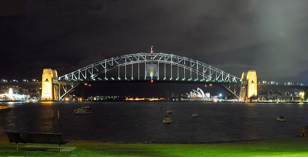 "фото ""Sydney Harbour Bridge"" метки: пейзаж, архитектура,"