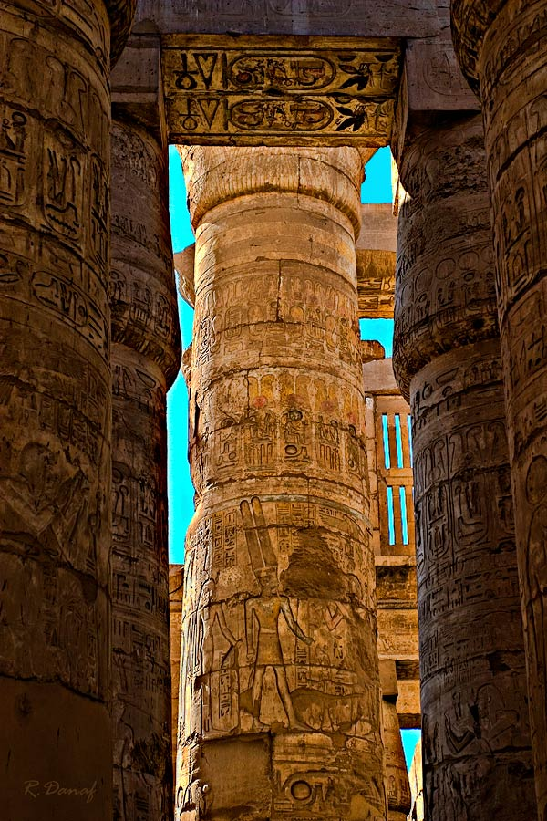 "photo ""Pillars"" tags: architecture, travel, landscape, Africa"