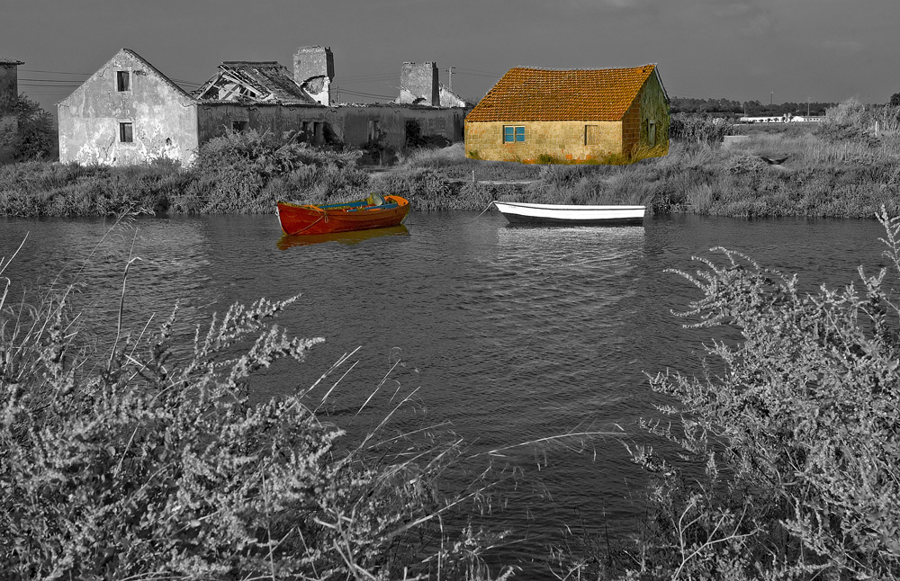"photo ""Color & BW"" tags: digital art, panoramic,"