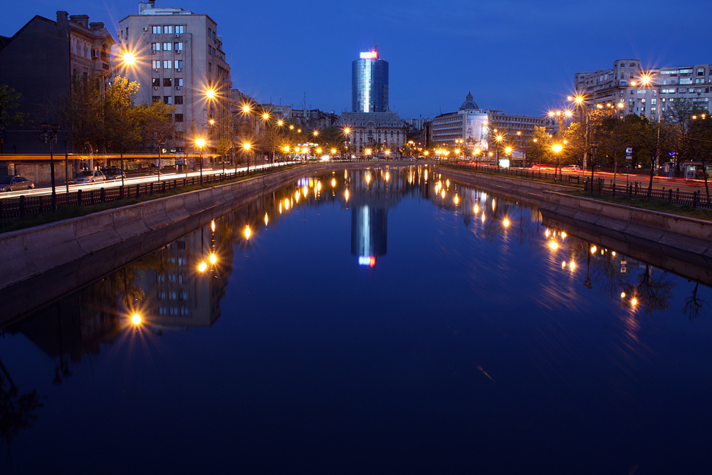 "photo ""***"" tags: travel, city, Bucharest, Europe, night"