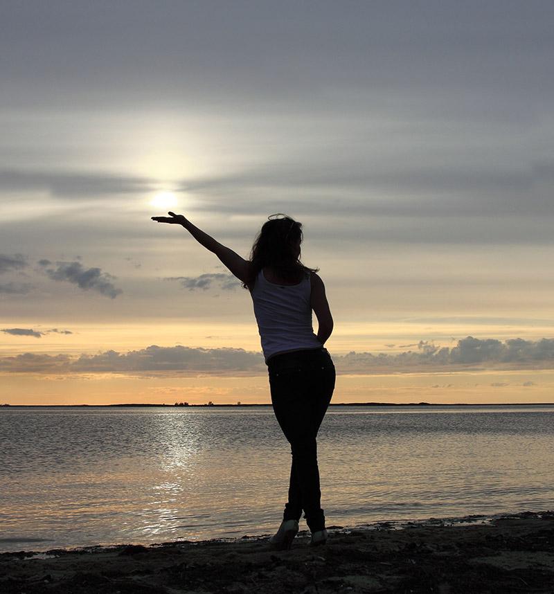 "photo ""Провожая день..."" tags: landscape, sunset"