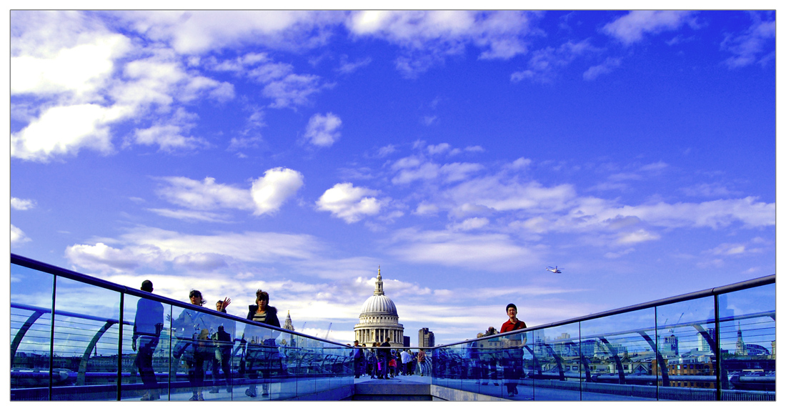 "photo ""St. Paul's Cathedral"" tags: architecture, landscape,"
