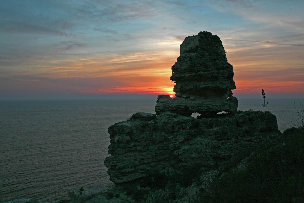 """фото """"Хозяин побережья"""" метки: пейзаж, закат"""