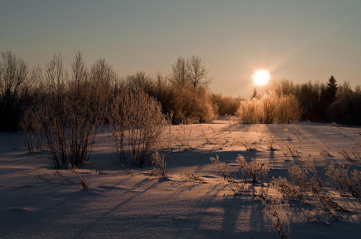 """фото """"глядя на звезду"""" метки: пейзаж, зима"""
