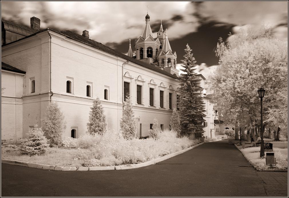 """фото """"Территория Саввино-Сторожевского монастыря"""" метки: архитектура, пейзаж,"""