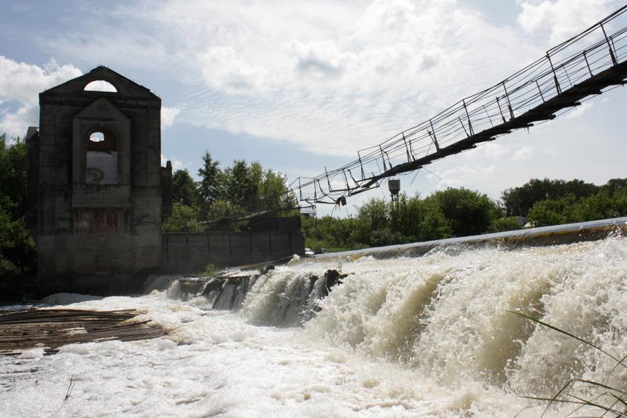 "фото ""Петровский. На один и тот же мост нельзя войти..."" метки: пейзаж, архитектура, вода"