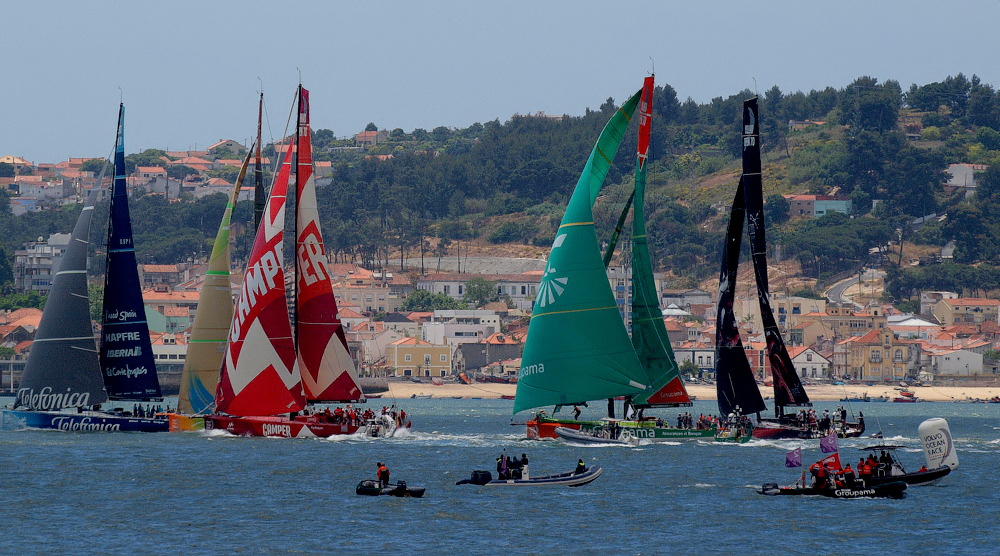 "photo ""VOLVO OCEAN RACE 2011/2012 - LISBON!!! #1"" tags: sport,"
