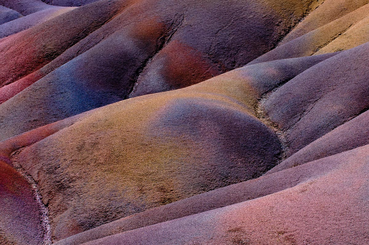 "фото ""Colored earth"" метки: пейзаж, абстракция, природа, Африка, Маврикий, абстракция, земля, путешествия, семицветная земля, фактура, цвет, шамарель, экзотика"