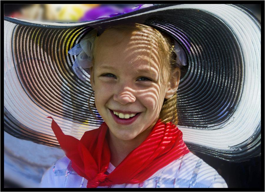 "фото ""лето в ""шляпе"""" метки: репортаж, портрет, дети"